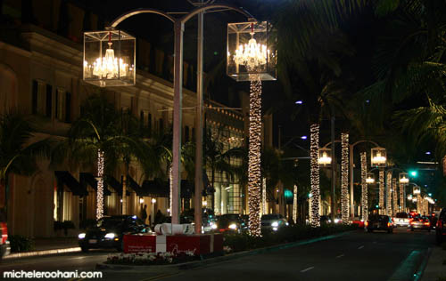 michele roohani rodeo drive christmas chandelier