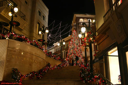 michele roohani rodeo drive christmas via rodeo