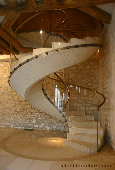 maillol stairs