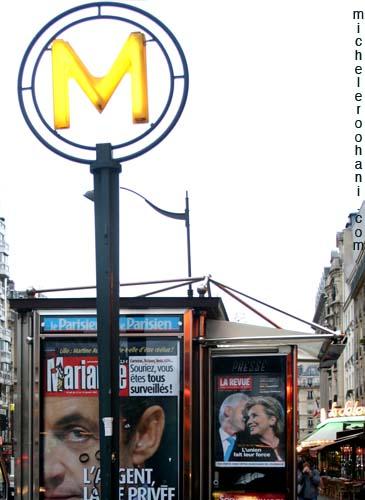 news stand montparnasse