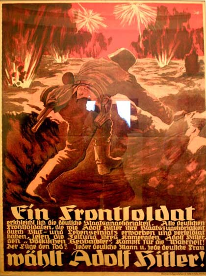 michele roohani german war poster 11