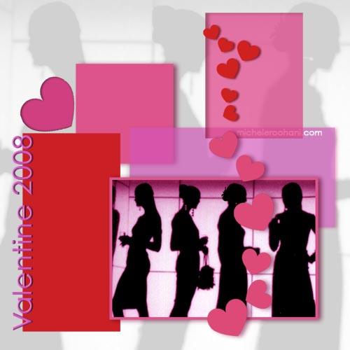 valentine 2008 micheleroohani women