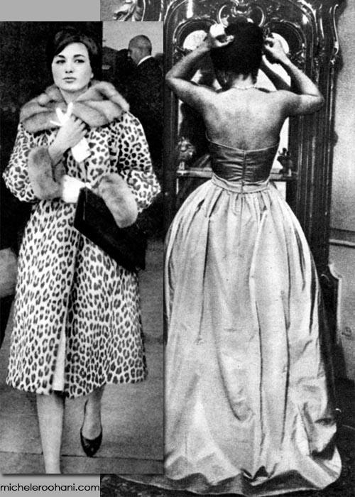 farah pahlavi coat mirror micheleroohani
