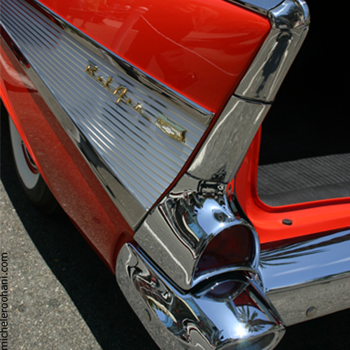 red chevrolet belair michele roohani