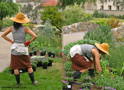 huntington library gardener michele roohani