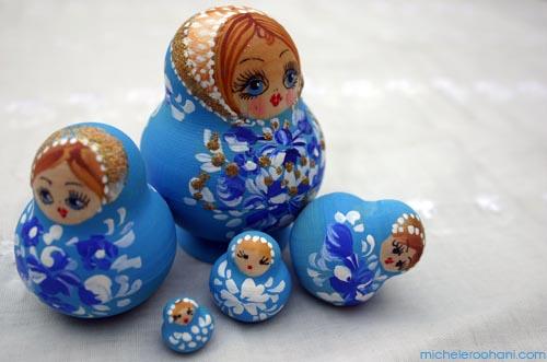 michele roohani babooshka dolls Matryoshka prague
