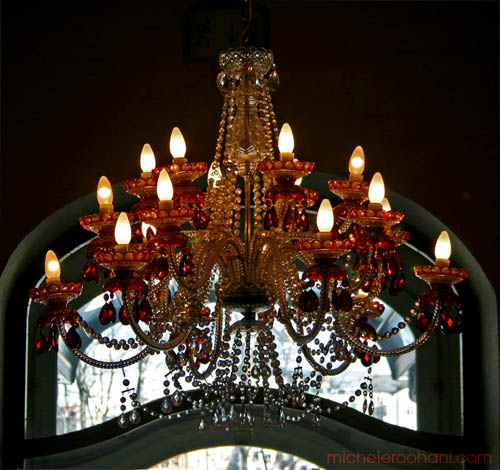 michele roohani prague crystal chandelier bohemia