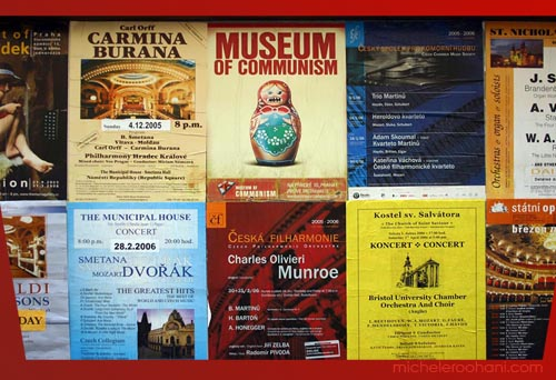 michele roohani prague posters communism museum