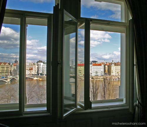 michele roohani prague room with a view sunny