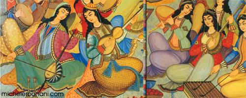 persian musicians hasht behesht 1669 michele roohani