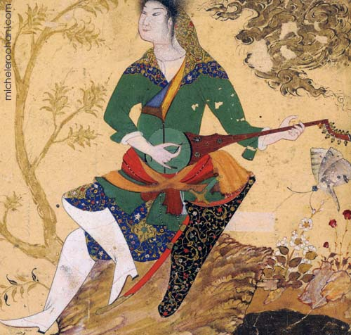 Robab player british museum 1530 michele roohani