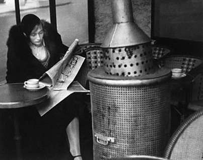 kertesz michele roohani woman reading