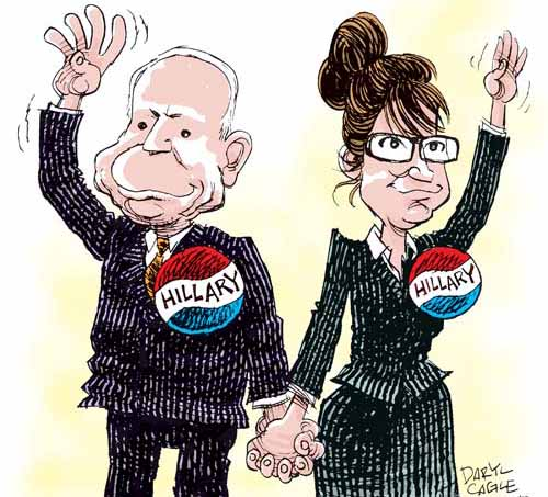 palin mccain michele roohani cartoon