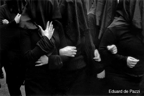 eduard de pazzi italian procession black