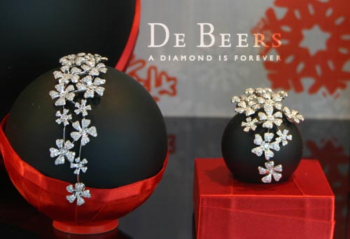 michele roohani reflection christmas 2008-2009 de beers
