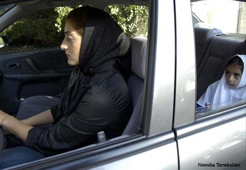 Newsha Tavakolian driver mom