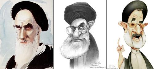 khomeini khamenei khatami cartoons