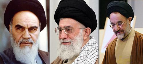 khomeini khamenei khatami islamic republic