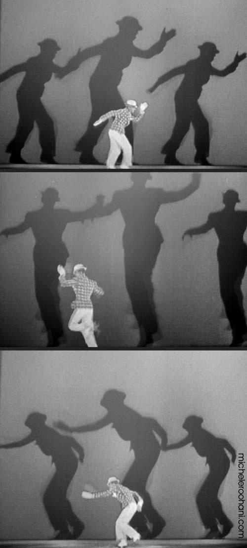 fred astair shadow  Bojangles michele roohani