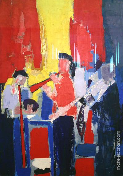 musicians Nicolas de Stael michele roohani