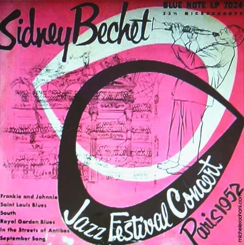 Sidney Bechet paris 1952 michele roohani