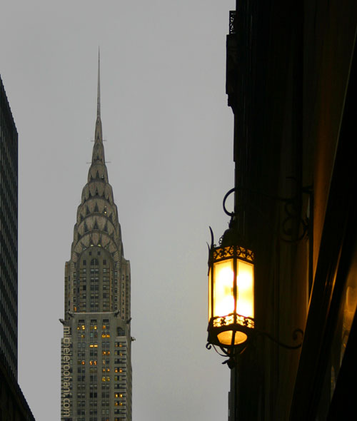 chrysler building dusk michele roohani