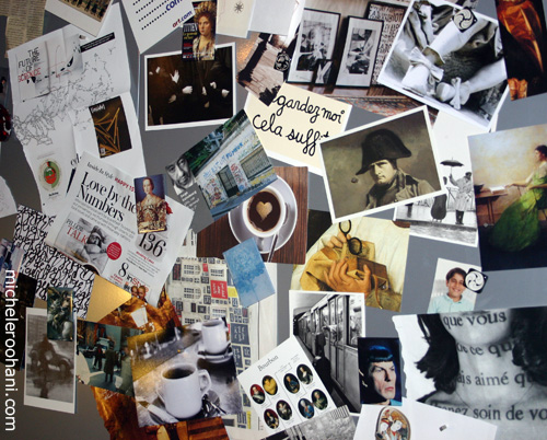 mood board michele roohani spock