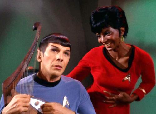 spock uhura music michele roohani
