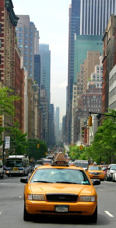 yellow cab madison avenue manhattan michele roohani