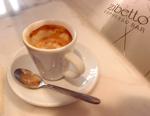 zibetto espresso bar manhattan ny michele roohani