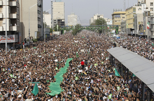 green wave iran