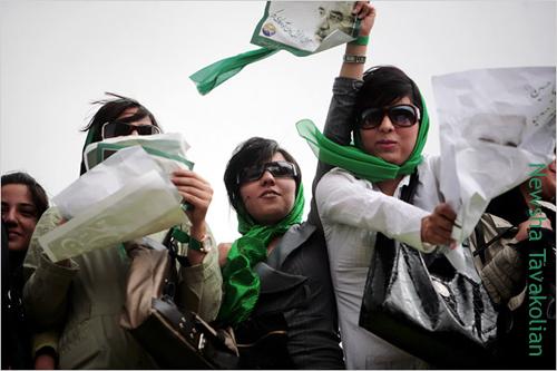 iranian elections women newsha tavakolian michele roohani