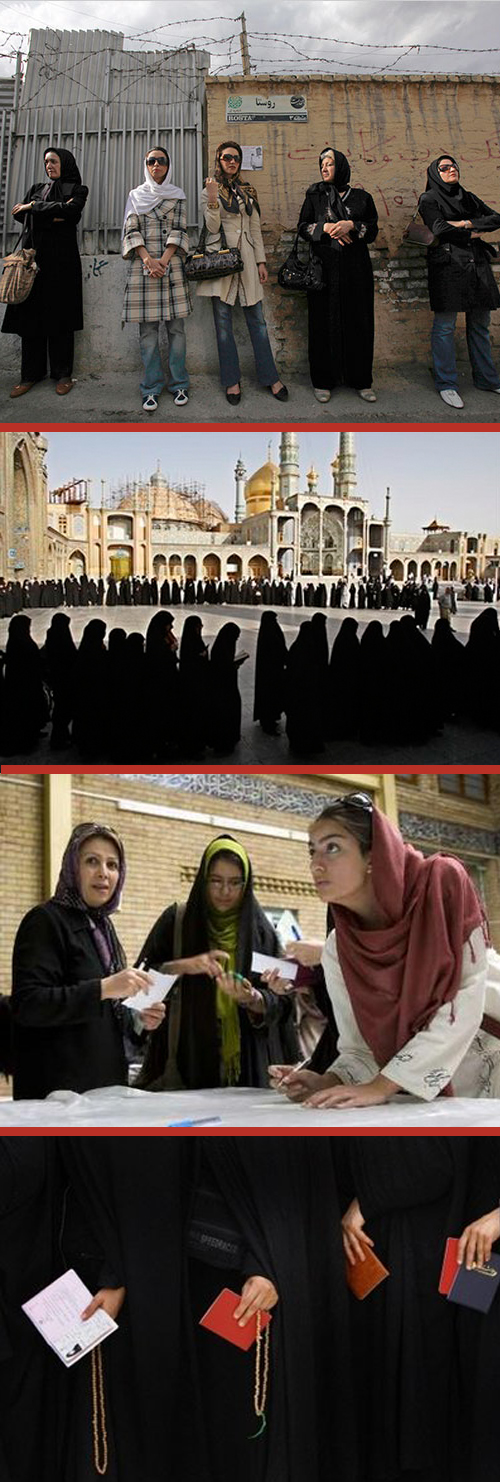 iranian women voting in presidential elections michele roohani