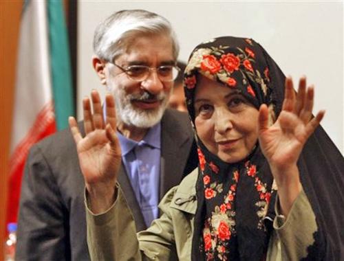 mousavi rahnavard president iran