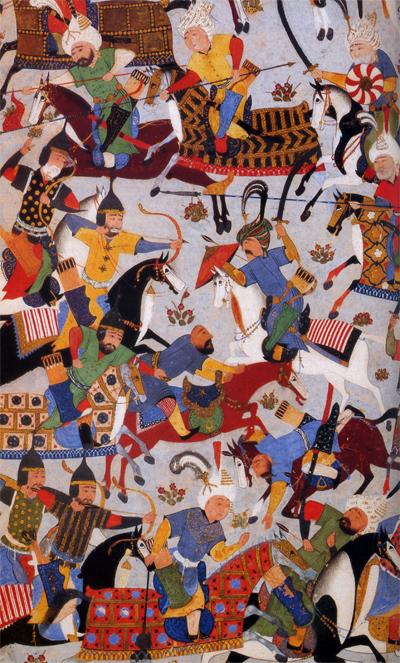 perisan miniature mahmoud mosavvar 1530 smithsonian michele roohani