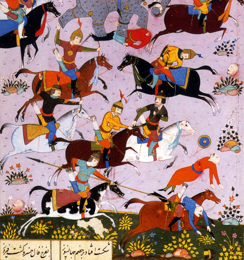 persian miniature Nezami five poems khamseh michele roohani