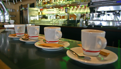 four coffee cups michele roohani