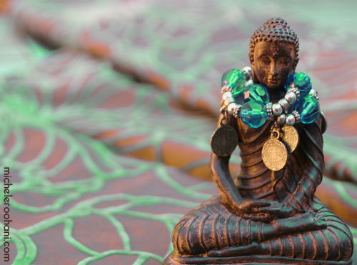 green buddha beads michele roohani