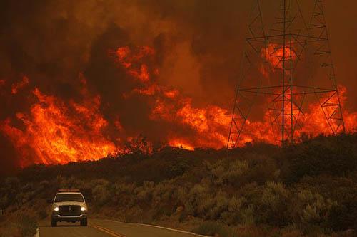 L.A. fire  latimes