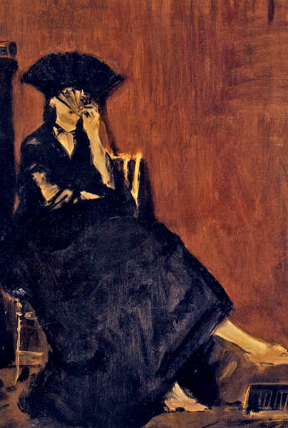 edouard manet berthe morisot a l'eventail michele roohani