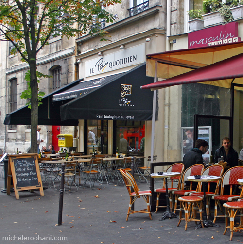 pain quotidien paris michele roohani rue des archives