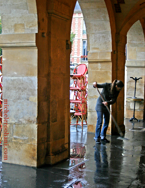 place des vosges sweeper michele roohani paris