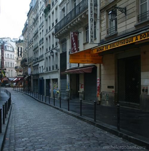 saint michel deserted street michele roohani