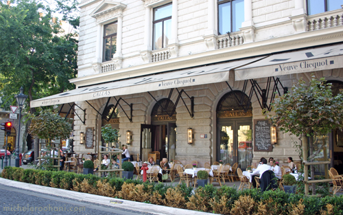 budapest cafe callas michele roohani terrace