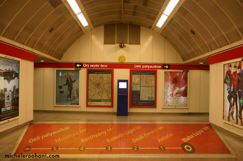 budapest metro michele roohani