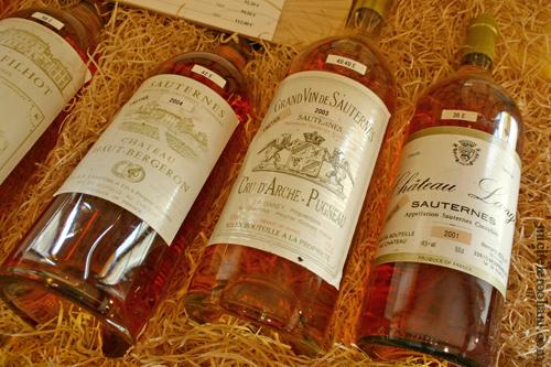 Cru d'Arche-pugneau Sauternes michele roohani bottles