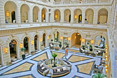 hotel bolosco new york palace budapest lobby michele roohani