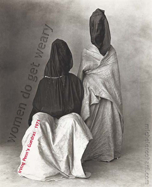 irving penn two guedras women get weary michele roohani