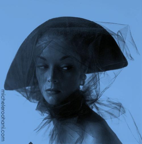 jean pachett irving penn 1949 michele roohani blue veil