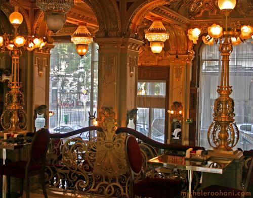 new york palace cafe budapest michele roohani